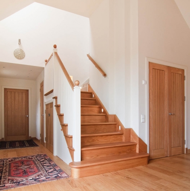 Oak Staircase White Spindles Bespoke Staircase Design Stair Manufacture And Professional Photos 66