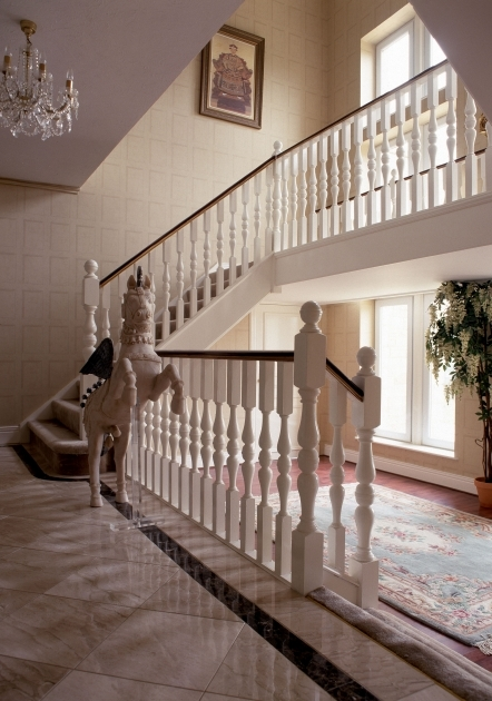 Oak Staircase White Spindles London Uk Images 88