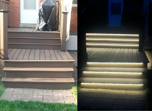 Outdoor Stairs Lighting Outdoor Deck Step Lights Picture 76