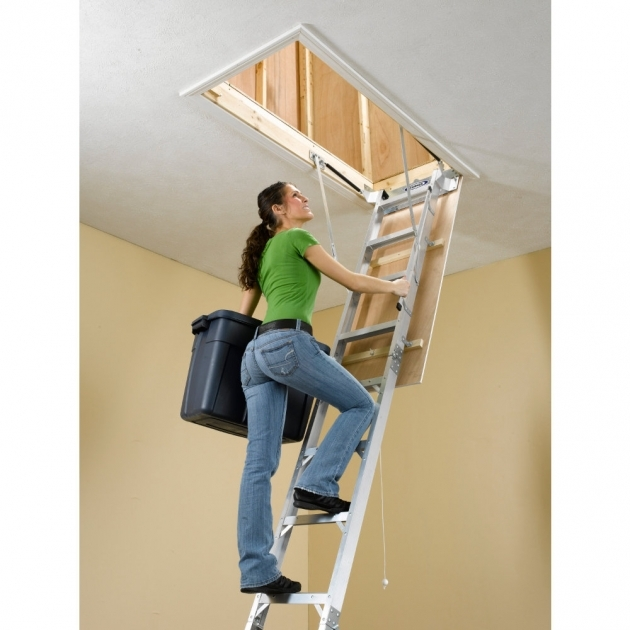 Pull Down Pole For Attic Stairs Fireman's Pole Installation  Picture 55