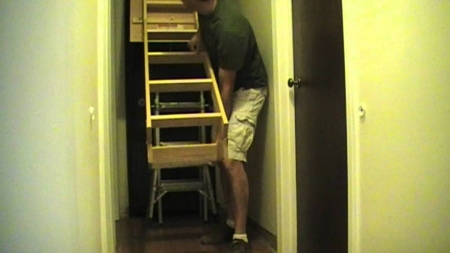Pull Down Pole For Attic Stairs Installation Image 23