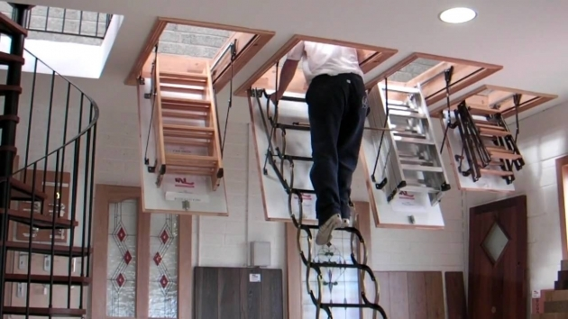 Pull Down Pole For Attic Stairs Lot Designs Installation Picture 24