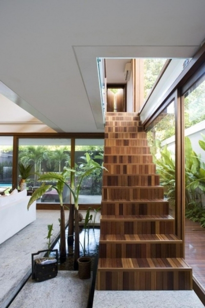 Staircase Designs For Small Homes In Modern Minimalist Style Image 89