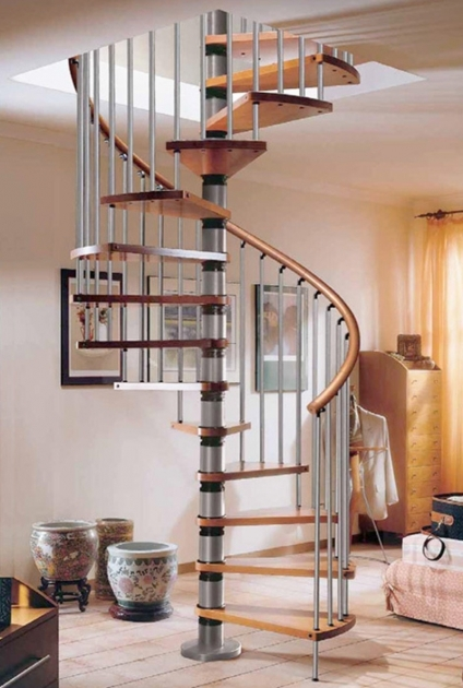 Staircase Designs For Small Homes Minimalist Spiral Staircase Design Images 81
