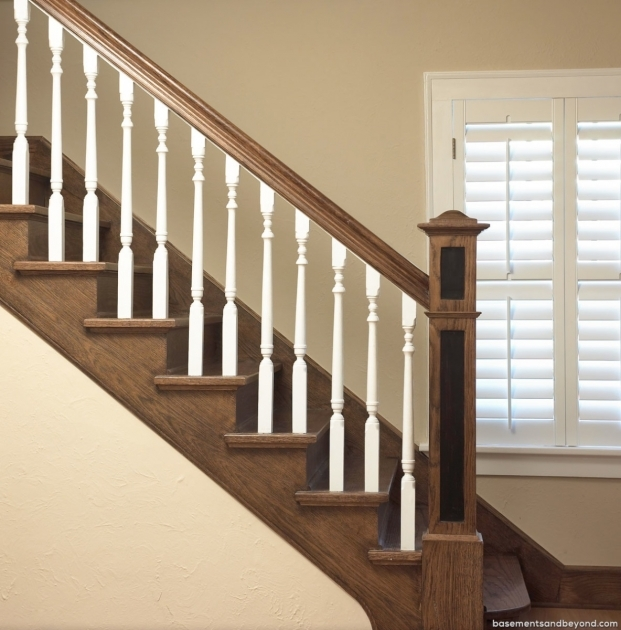 Staircase Spindles Wood Basements Picture 97