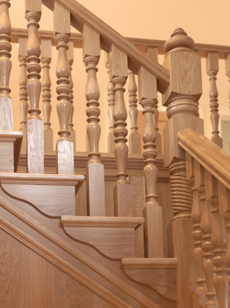 Staircase Spindles Wood Oak Image 79
