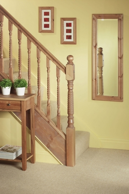 Staircase Spindles Wood Railing Photos 35