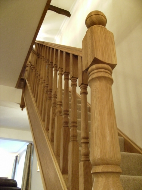 Staircase Spindles Wood Traditional Classic Home Pictures 21
