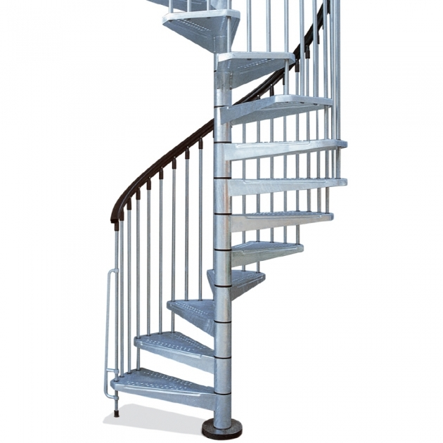 Standard Spiral Staircase Dimensions Shop Arke Enduro 55 In X 10 Ft Gray Spiral Staircase Kit Picture 82