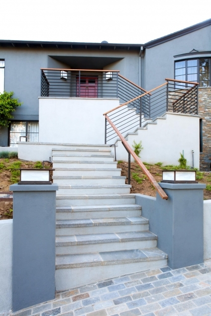 Tiles For Stairs Outdoors Jeff Troyer Associates Edgemont Residence Front Exterior Door Picture 88