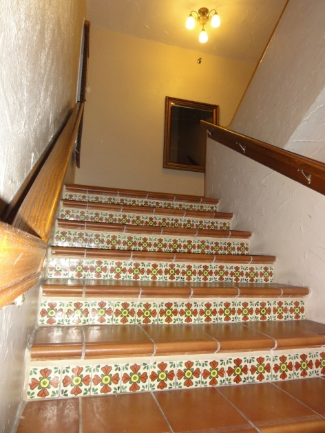 Tiling Stairs With Ceramic Tiles With Spanish Ceramic Tile Design The Clay Hotel Picture 86