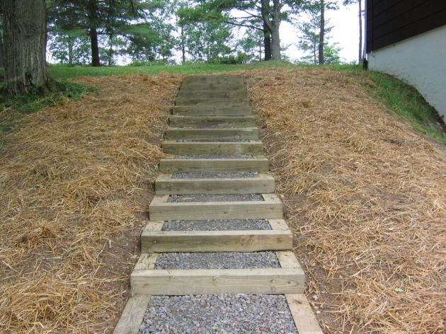 Timber Stairs Outdoor Decomposed Granite Landscape Timbers Steps Pinterest Pictures 68