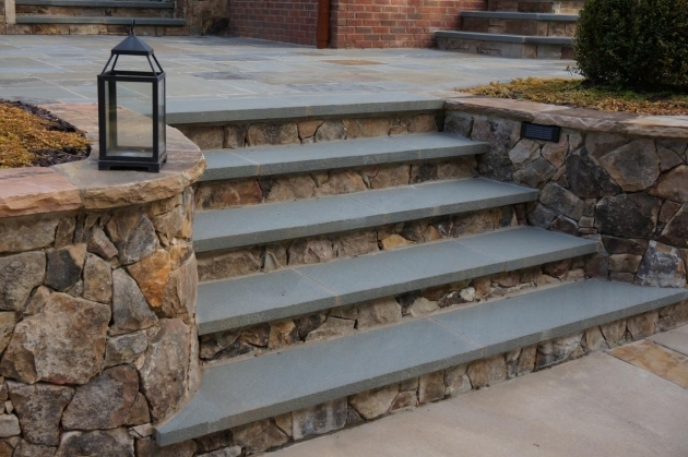 Timber Stairs Outdoor King Landscaping1 Pavers For Steps Pic 24