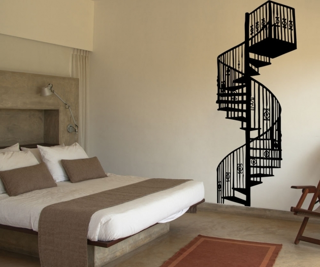 Wrought Iron Spiral Staircase Vinyl Wall Decal Sticker Spiral Staircase Pics 56