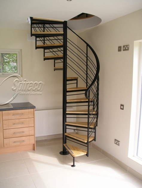 Wrought Iron Spiral Staircase With Wood Treads External Spiral Staircase Albuquerque Photo 49