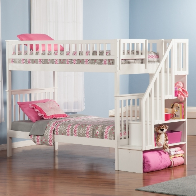 Childrens Bunk Beds With Stairs Cheap And White Furniture Ideas Pic 65