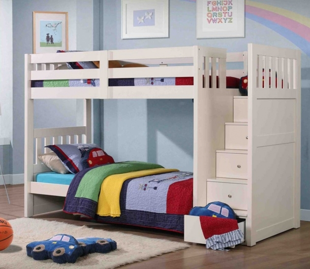 Childrens Bunk Beds With Stairs Simple Design Images 61