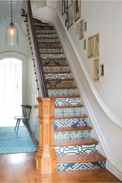 Decorative Stair Risers Ideas Picture 91