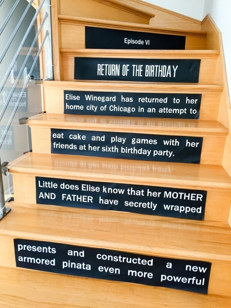 Decorative Stair Risers Star Wars Opening Crawl Stair Risers Image 21