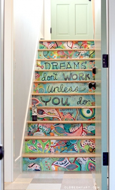 Decorative Stair Risers Trendy Ideas Pic 34