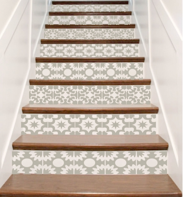 Decorative Stair Risers Vinyl Stair Riser Decals Carnivale Style Crowbas Picture 54