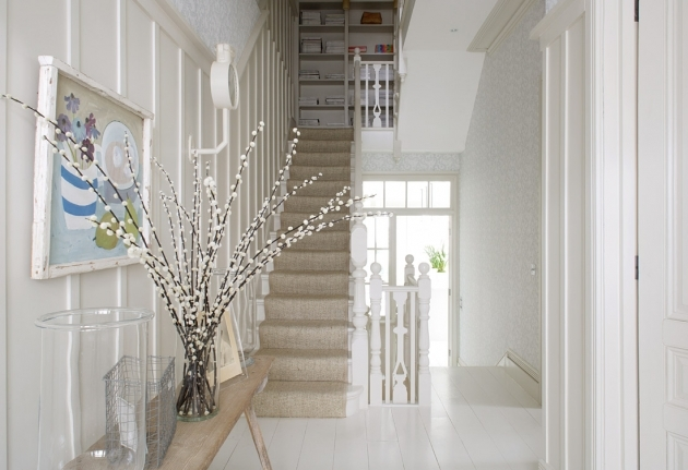 Designs For Stairs And Halls Ideas And Colour Schemes Image 78