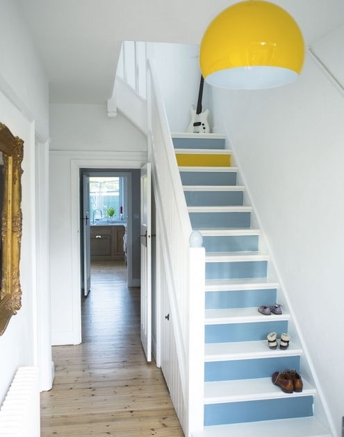 Designs For Stairs And Halls Ideas  Grey Hallway Picture 06