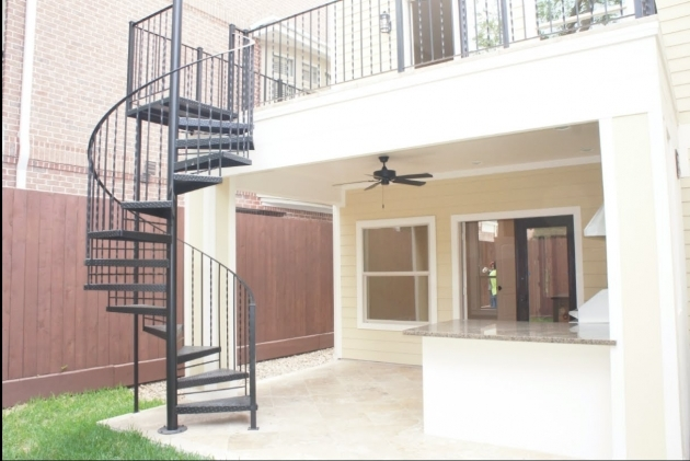 Exterior Spiral Staircase Kits Canada Images 05