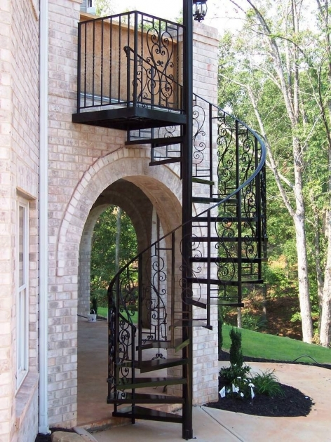 Exterior Spiral Staircase Kits Ideas For Your Home Image 57