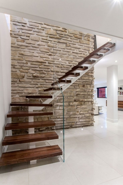Floating Stairs Construction Modern Home Design Pics 56