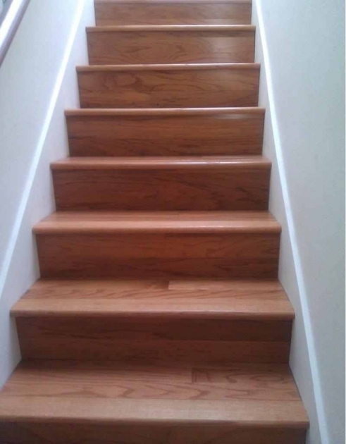 Oak Stair Treads Prefinished Hardwood Stair Design Idea With Laminate Wood Flooring Treads And Riser Images 13