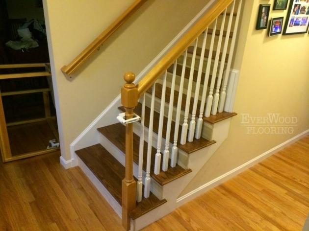 Oak Stair Treads With Return Home Design Picture 99