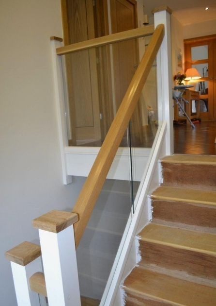Oak Staircases With Glass Balustrade Mr Manders Refurb Stairbox Staircases Photo 38
