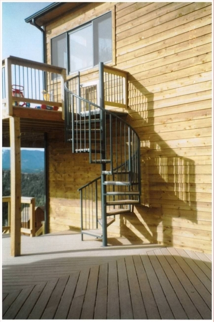 Outdoor Spiral Stair Kits Ideas Home Design Picture 71