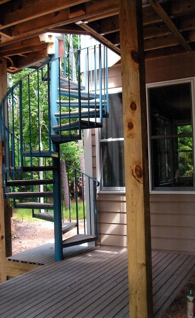 Outdoor Spiral Staircase Kits Iron Pictures 18