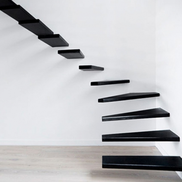 Small House Staircase Designs Minimalist Stairs House Interior Floating Ideas Pics 28