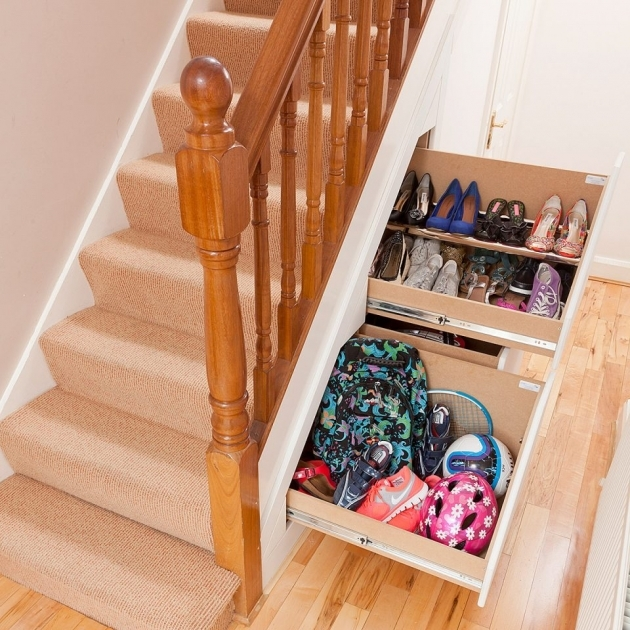 under Stairs Shoe Storage Diy Clever Closet 3 Drawer Systems Smart Solution Entryway Storage Ideas Photos 27