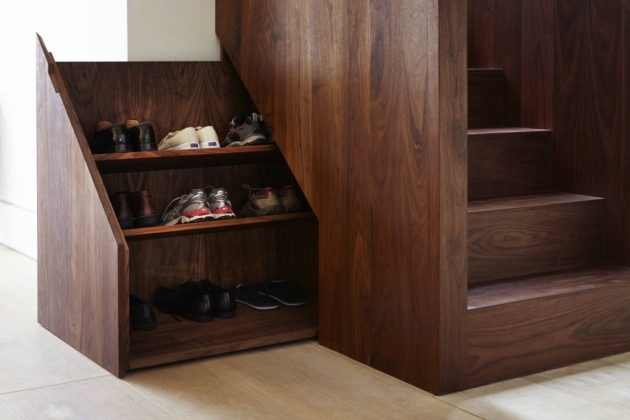 under Stairs Shoe Storage Plans Full Wooden Picture 74