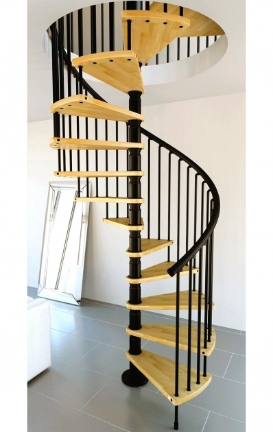 Wooden Spiral Staircase Kits Awesome Design Interior That Has Yellow And Black Pictures 19
