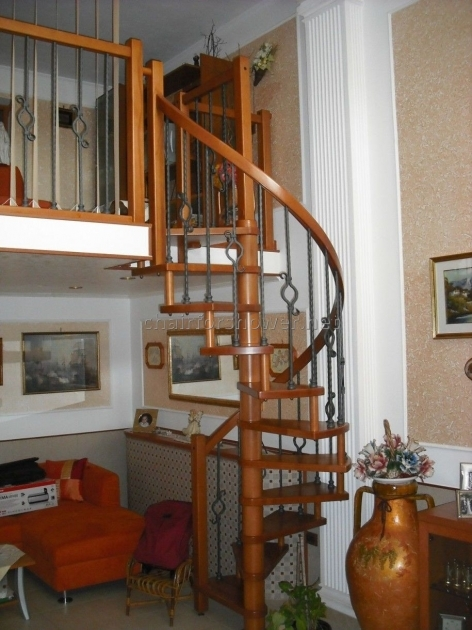 Wooden Spiral Staircase Kits For Sale  Images 05