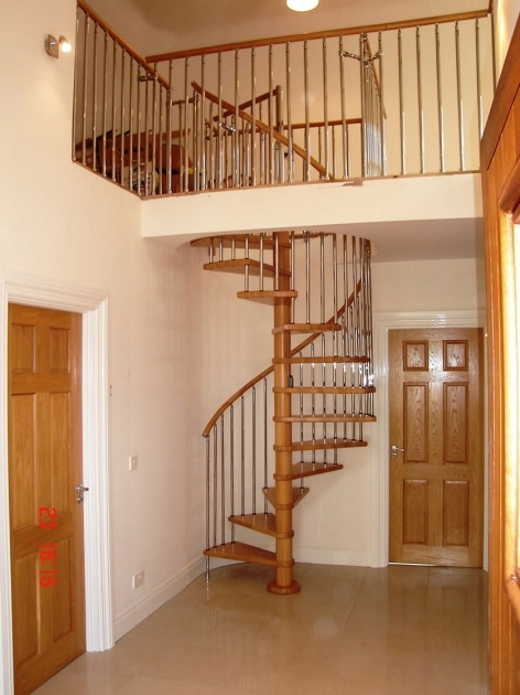 Wooden Spiral Staircase Plans Design Ideas Picture 72