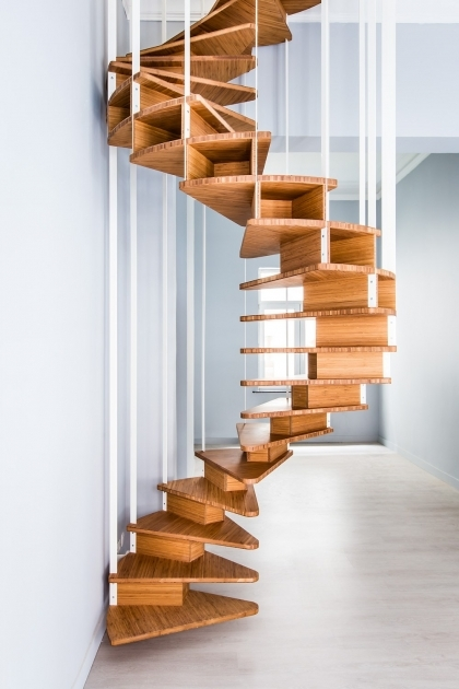 Wooden Spiral Staircase Plans How To Build Pics 76
