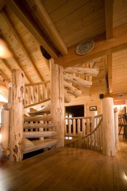 Wooden Spiral Staircase Plans With Railing Photos 20