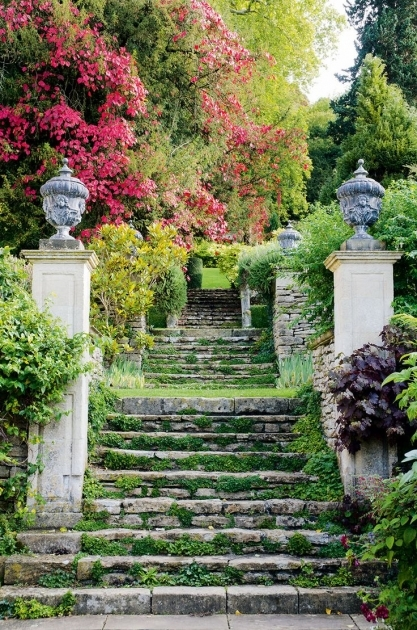 Building Stairs Into A Hill Ideas Garden Stairs Picture 28
