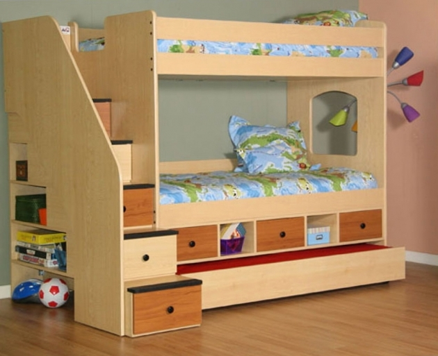 Bunk Beds Stairs And Drawers Home Design Ideas Pictures 03
