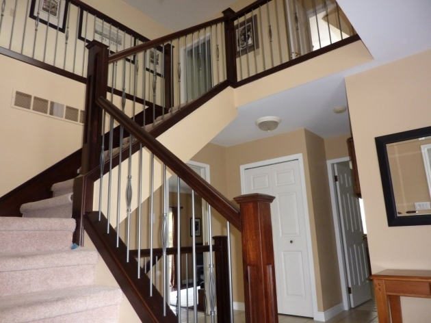 Designing Staircase Railings Indoor Yourself Decoration Photos 37
