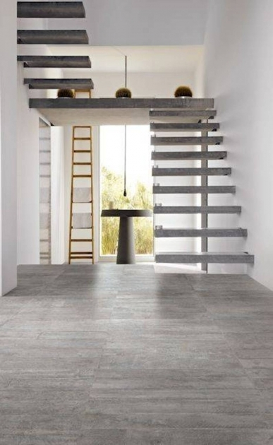 Floating Concrete Stairs For Modern Interior Design Image 53