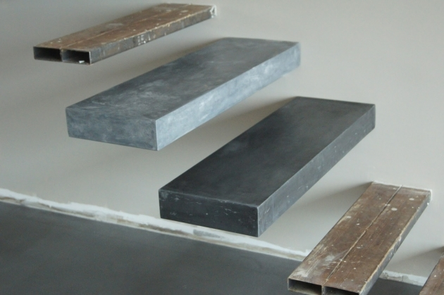 Floating Concrete Stairs Steps Designs Images 97