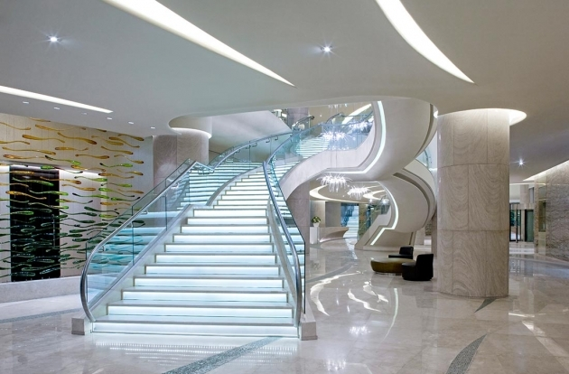 Hilton Capital Grand Staircases Design Pictures 52