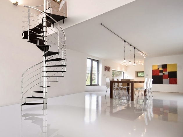 Metal Spiral Staircase Dimensions Contemporary Home Design Picture 82